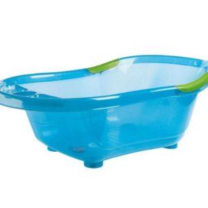 dBb-Remond-Baignoire-Bleue-Translucide-avec-Bouchon-de-Vidange-et-Poignes-Antidrapantes-Vertes-0