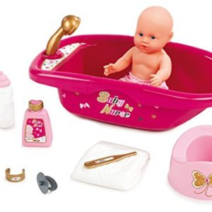 Smoby-220302-Baby-Nurse-Set-Baignoire-et-Accessoires-10-Accessoires-0