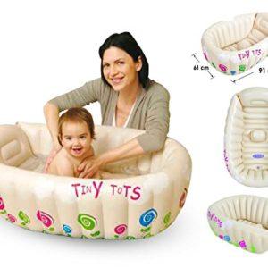 Tiny-Tots-Baignoire-gonflable-pour-bb-portable-pratique-pour-les-voyages-sans-phtalate-0
